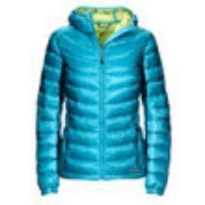 Ultralight 850 Down Hooded Jacket Misses Petite